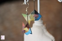 Multicolour fish earrings +°+ Boucles d'oreilles poisson multicolore